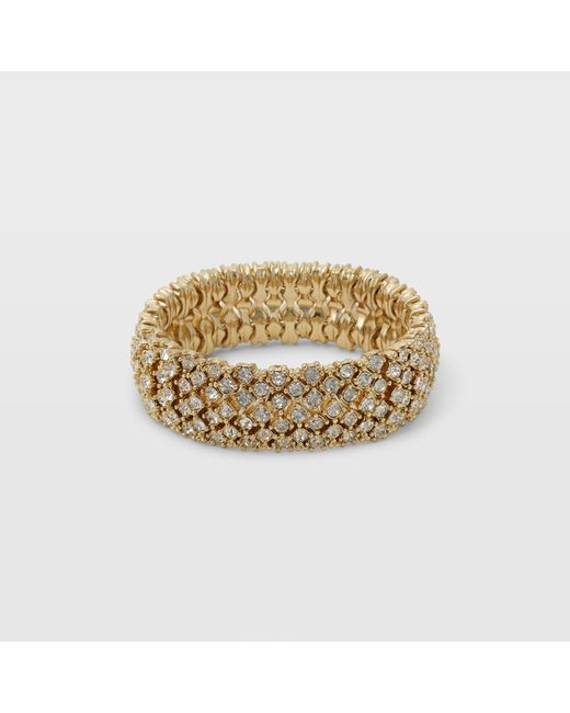 Club Monaco | Metallic Jenna Stretch Bracelet | Lyst