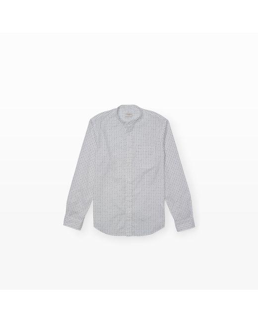 Club Monaco | White Slim-fit Bc Geo Print Shirt for Men | Lyst