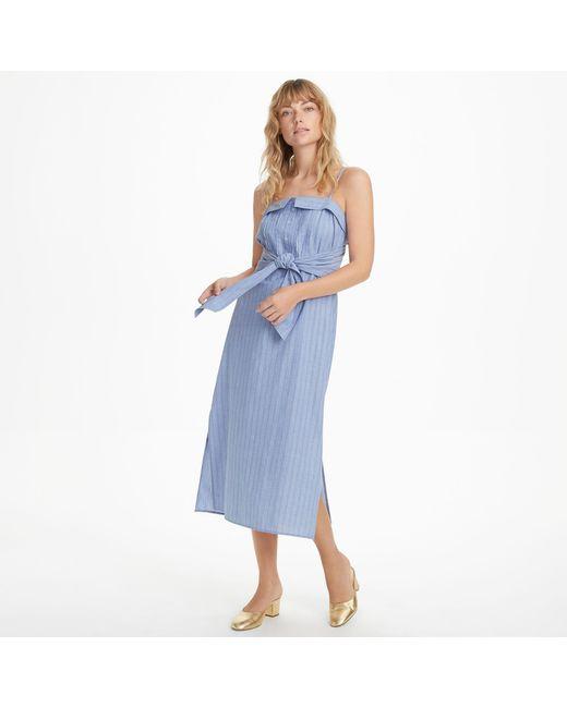 Club Monaco - Blue Radura Dress - Lyst