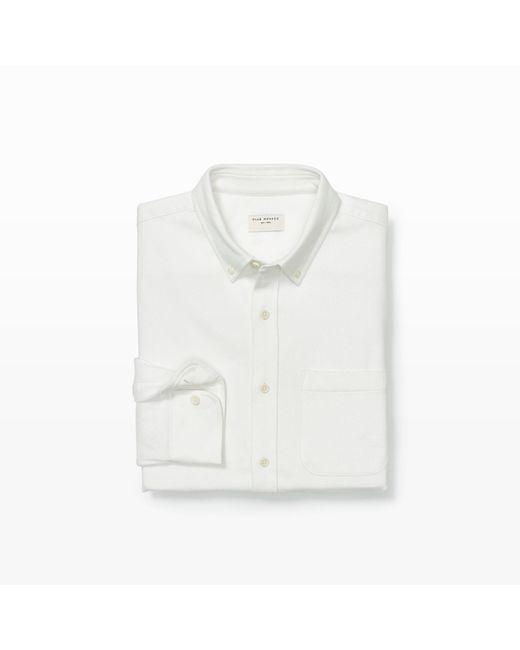 Club Monaco | White Slim Soft Twill Shirt for Men | Lyst