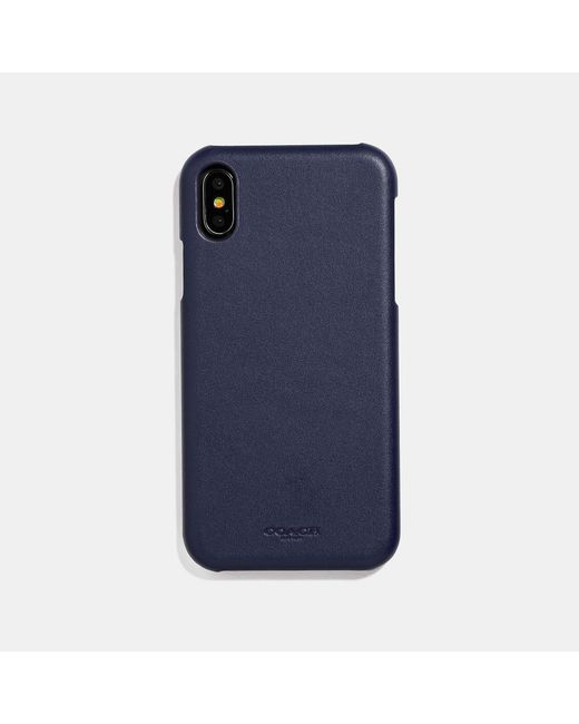 COACH Blue Iphone Xr Case