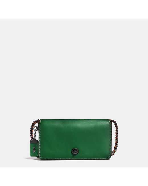 COACH | Black Dinky In Colorblock Mixed Materials | Lyst