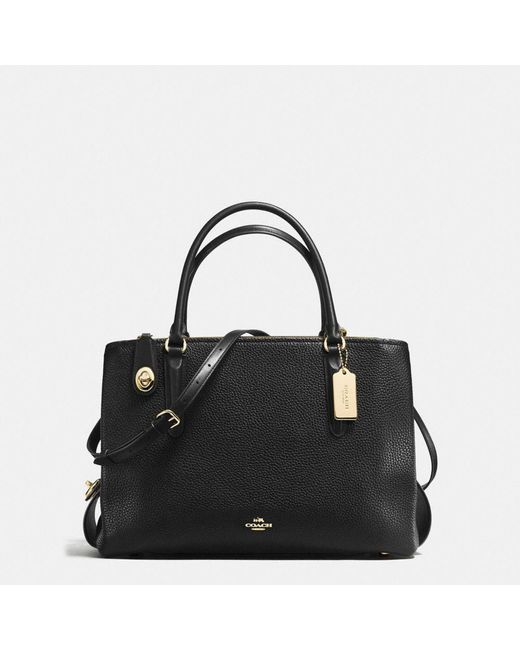 COACH | Multicolor Brooklyn Carryall 34 In Pebble Leather | Lyst