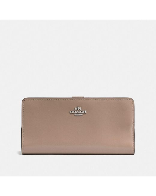COACH | Multicolor Skinny Wallet In Refined Calf Leather | Lyst