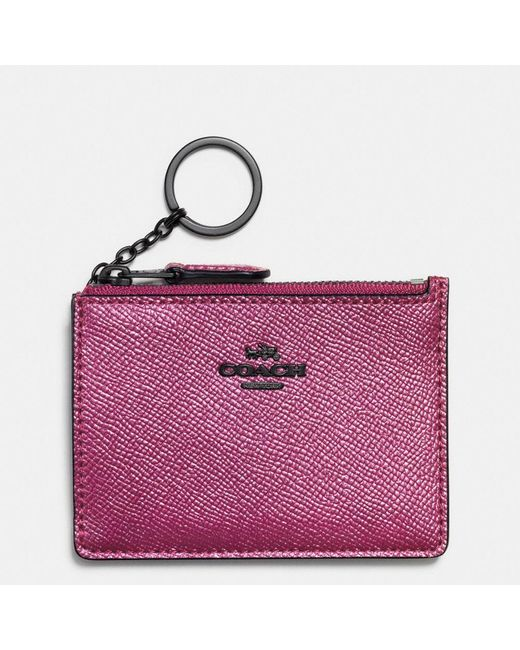 COACH | Multicolor Metallic Mini Id Case | Lyst