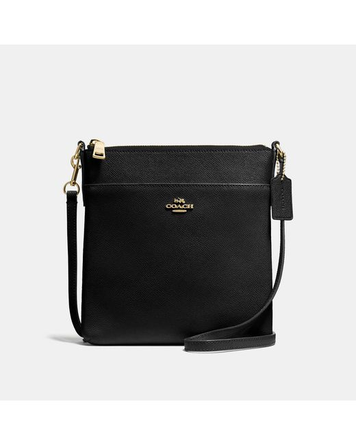 COACH Black Kitt Messenger Crossbody