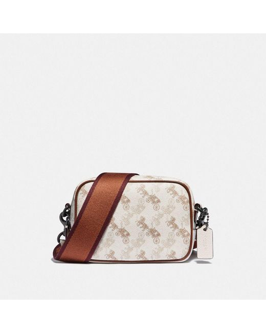 COACH Multicolor Camera Bag 16 With Horse And Carriage Print