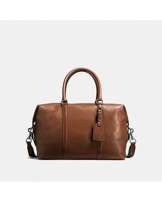 COACH | Brown Explorer Bag In Sport Calf Leather for Men | Lyst