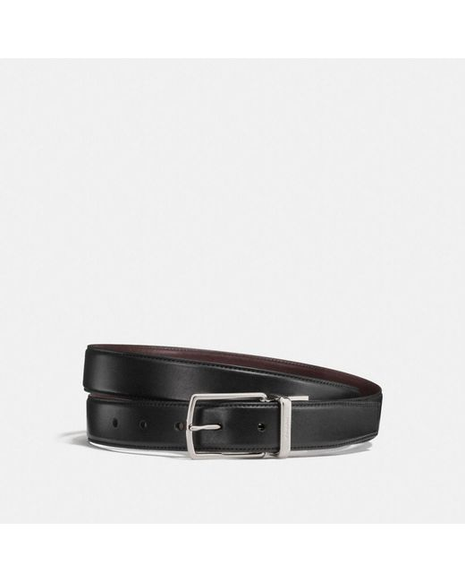 2900869e6216 Coach Modern Harness Cut-to-size Reversible Belt in Black for Men - Lyst
