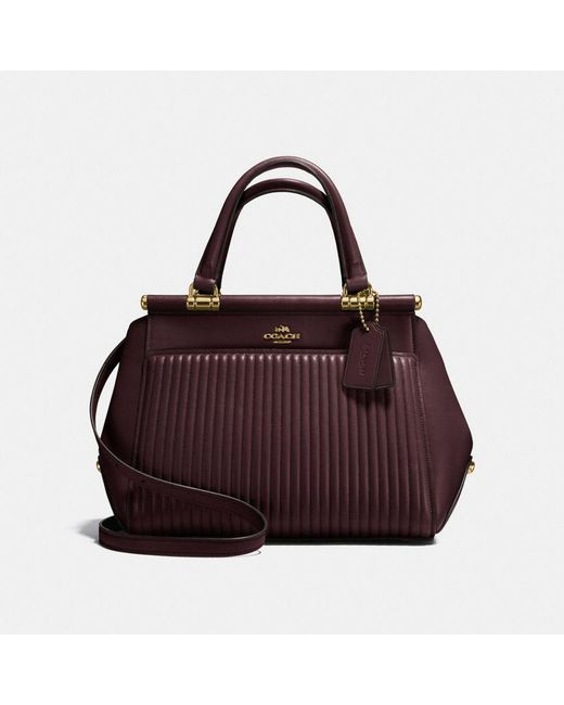 Lyst Coach Grace Bag With Quilting