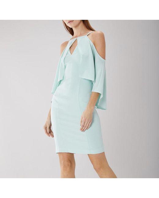 Coast - Blue Charlie Crepe Dress - Lyst
