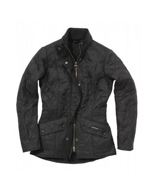 Barbour - Black Cavalry Polarquilt Jacket - Lyst