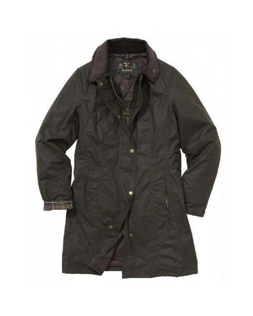 Barbour Green Belsay Wax Jacket