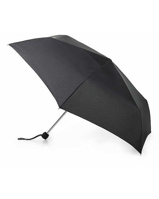 Fulton Black Superslim-1 Folding Umbrella
