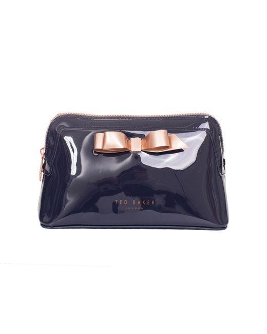 Ted Baker Blue Bow Detail Wash Bag