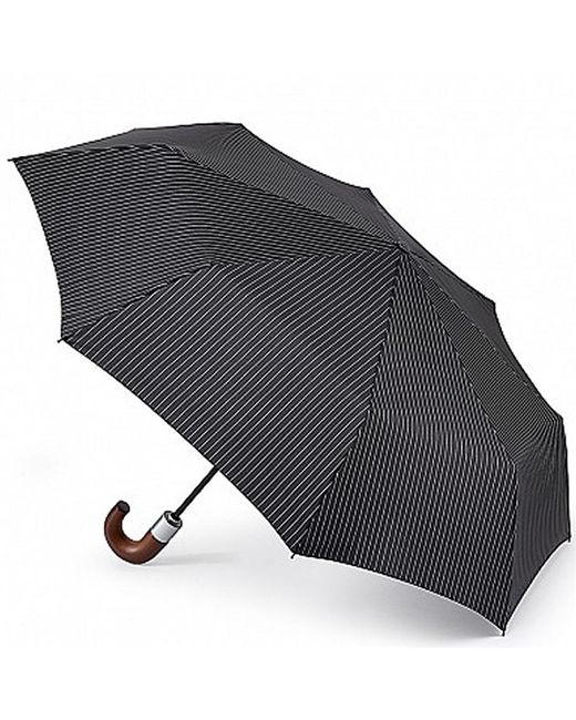 Fulton Black Chelsea-2 Folding Umbrella