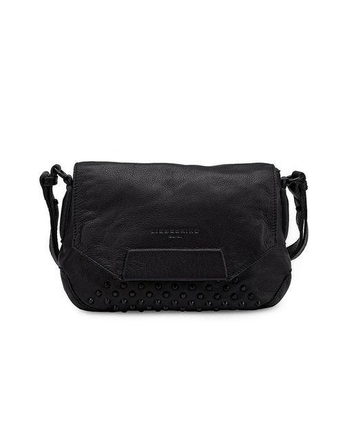 Liebeskind - Black Yokote Studded Small Shoulder Bag - Lyst