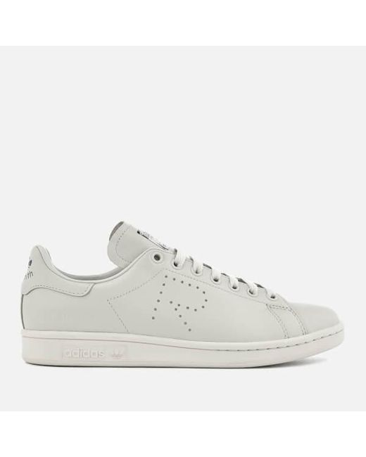 competitive price 40b40 fbfae Adidas By Raf Simons - Gray Stan Smith Trainers for Men - Lyst ...