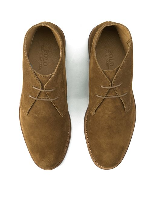 polo ralph s carsey suede desert boots in