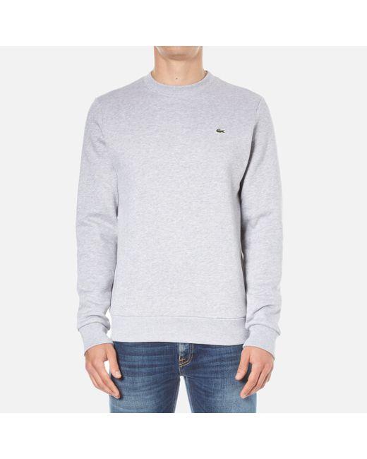 Lacoste | Gray Sweatshirt for Men | Lyst
