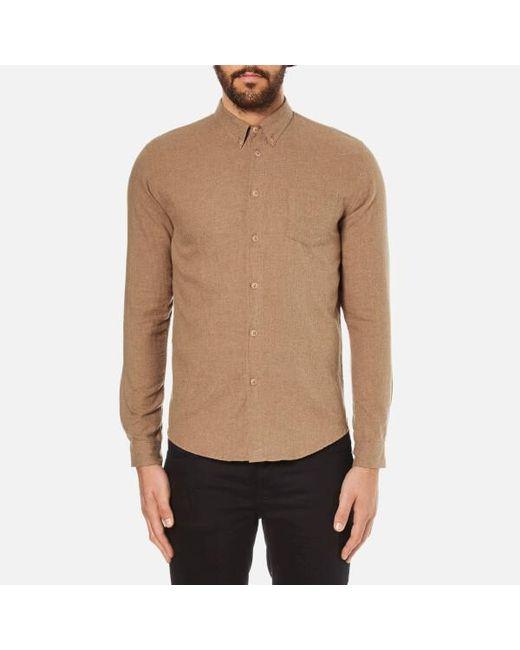 Folk | Multicolor Men's Button Down Long Sleeve Shirt for Men | Lyst