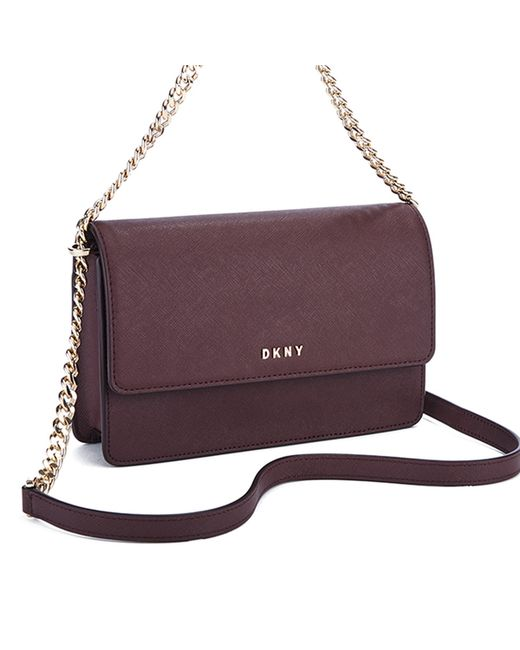 616b4f1b75 Dkny Bryant Park Small Flap Saffiano Crossbody Bag
