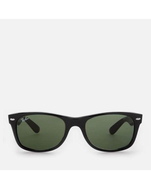 f0b11ee8b5 Ray-Ban - Black Rayban Men's New Wayfarer Sunglasses for Men - Lyst ...