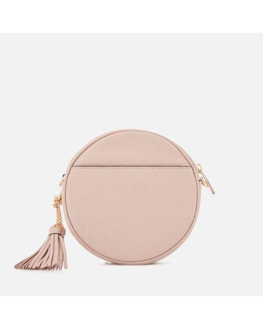 6123fbecc406 ... Lyst MICHAEL Michael Kors - Pink Women s Canteen Bag ...
