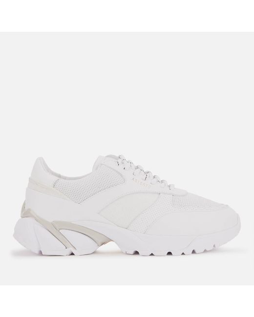Axel Arigato White Tech Runner Style Trainers