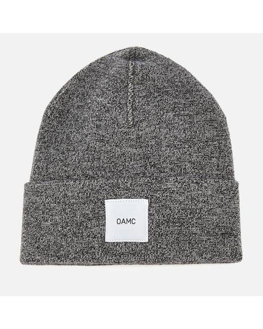 89952a91b53 OAMC - Gray Men s Wool Watch Cap for Men - Lyst ...