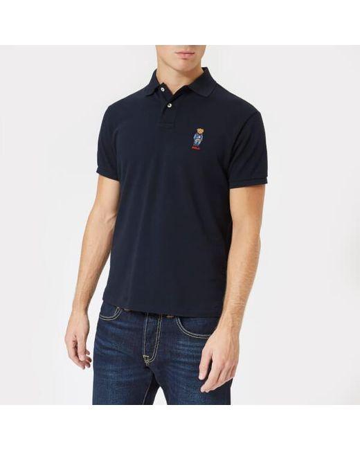 Polo Ralph Lauren - Blue Men's Ted Short Sleeve Polo Shirt for Men - Lyst