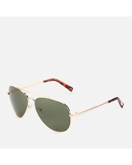 Le Specs Women's Green Fly High Sunglasses