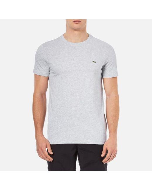 Lacoste - Gray Men's Basic Tshirt for Men - Lyst