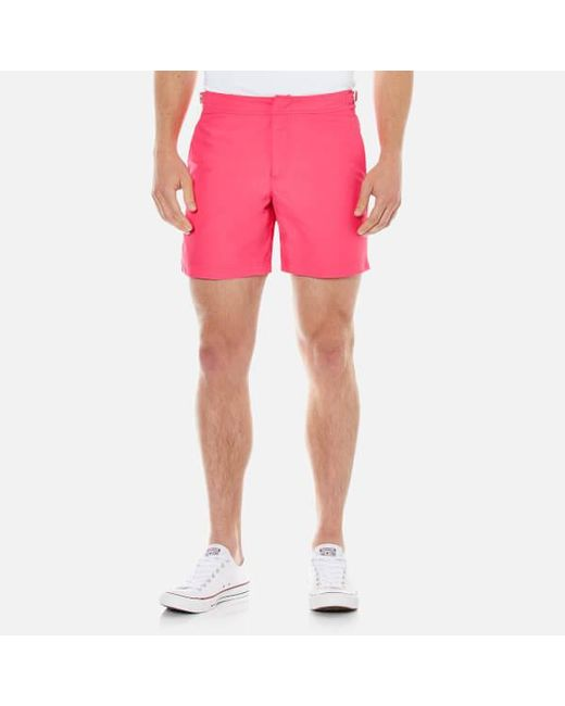 Orlebar Brown | Pink Men's Bulldog Swim Shorts for Men | Lyst