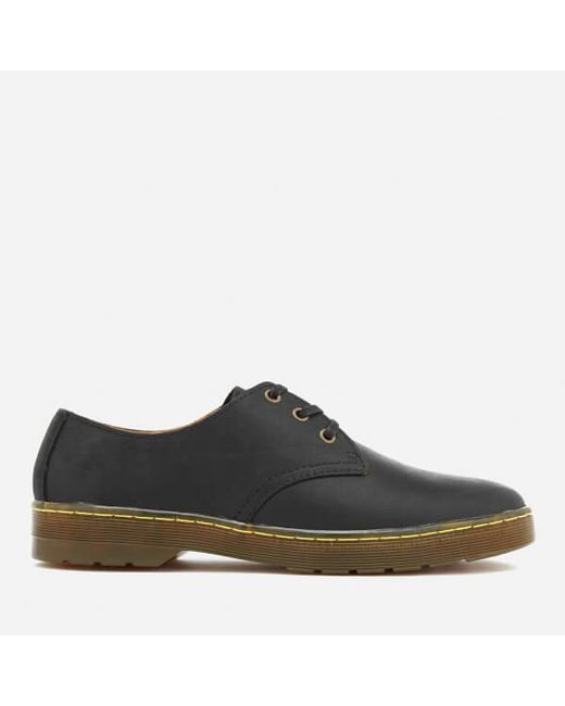 Dr. Martens - Black Men's Cruise Coronado Leather Derby Shoes for Men - Lyst