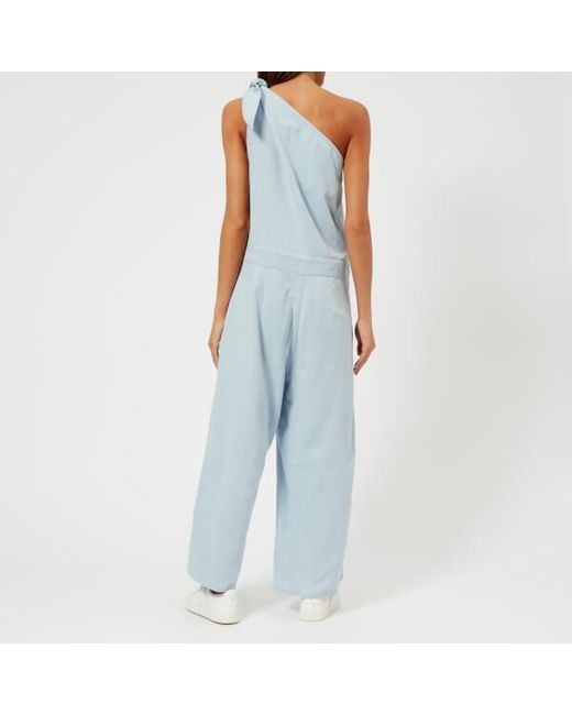 Cheap Sale 100% Authentic 100% Original straight-fit jumpsuit - Blue Maison Martin Margiela Cheap Looking For WcPtXyA