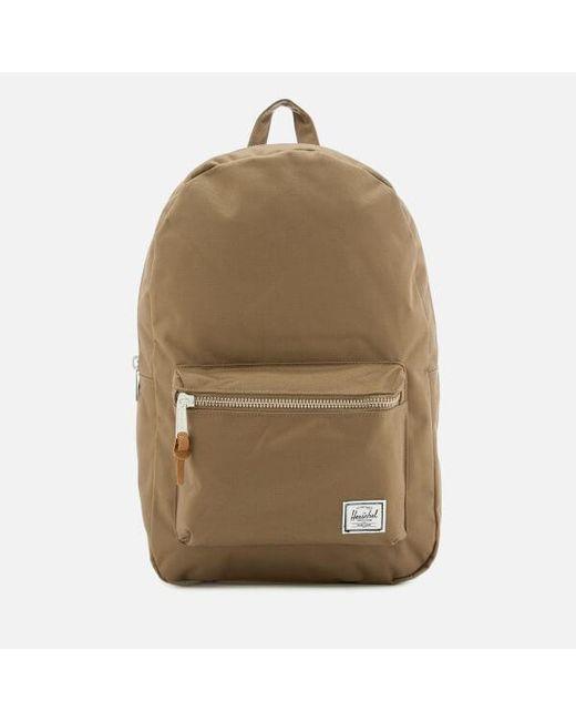 Herschel Supply Co. - Green Men s Settlement Backpack for Men - Lyst ... 2462af14d7