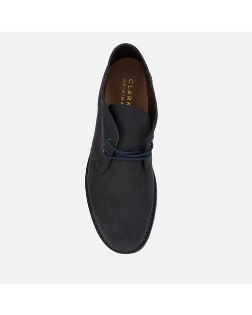 Clarks Blue 221 Suede Desert Boots for men