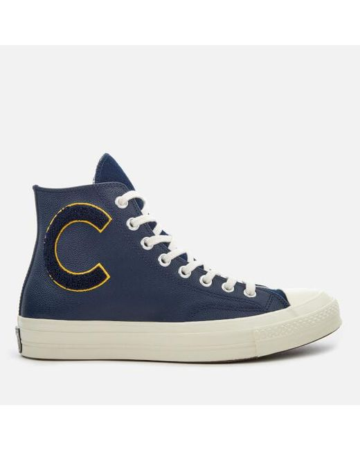 Converse - Blue Men's Chuck Taylor All Star 70 Hitop Trainers for Men - Lyst