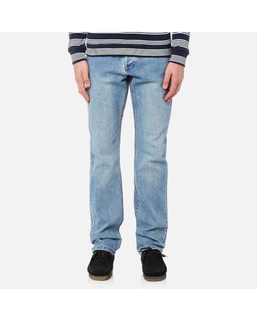 A.P.C. - Blue Men's Standard Jeans for Men - Lyst