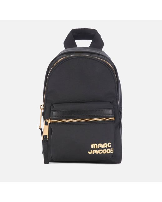 Marc Jacobs Black Trek Pack Mini Backpack