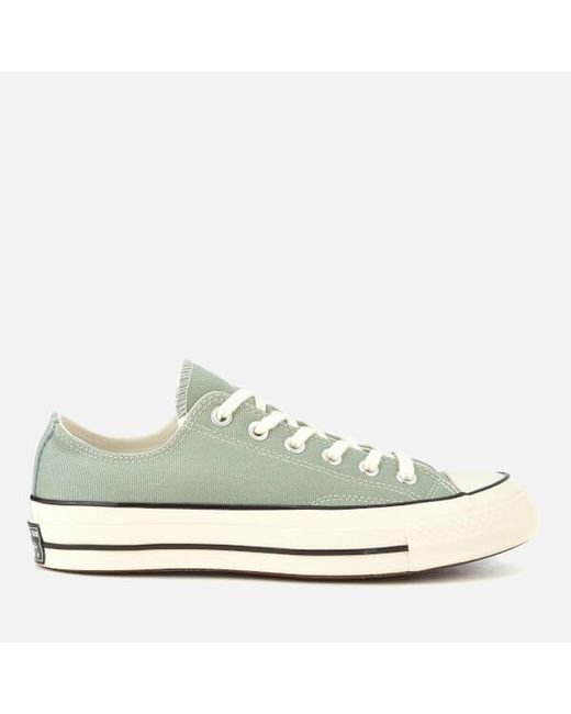 Converse - Green Chuck Taylor All Star  70 Ox Trainers for Men - Lyst ... 739b29ed2