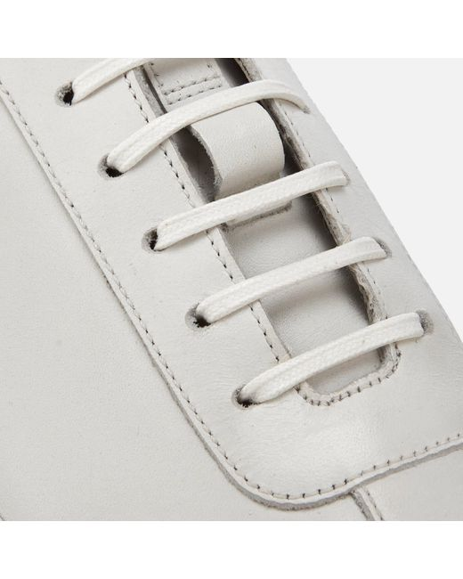 GRENSON White Sneaker 1 Leather Cupsole Trainers for men
