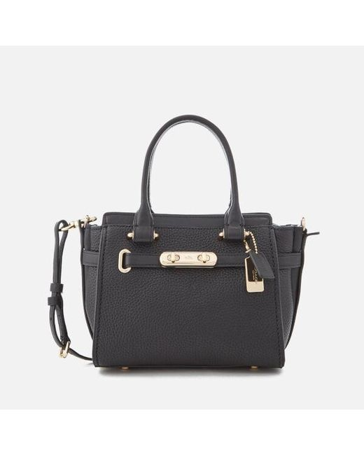 COACH - Black Women's Swagger 21 Bag - Lyst