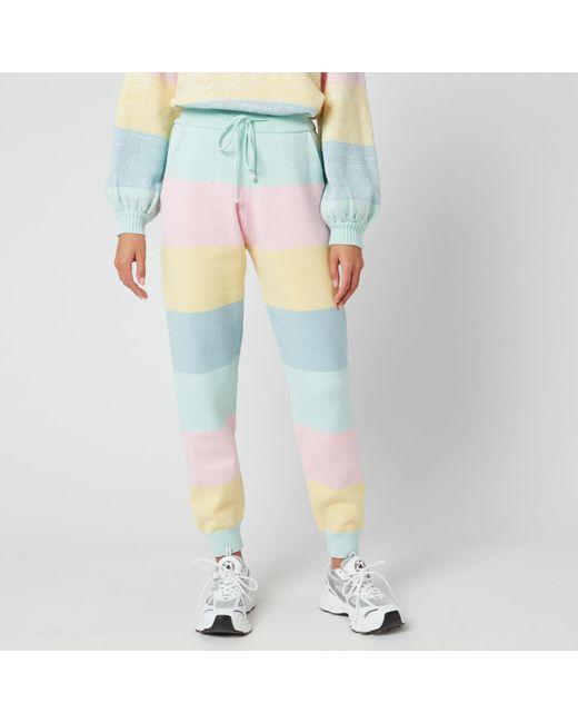 Olivia Rubin Multicolor Tilda Knitted Joggers
