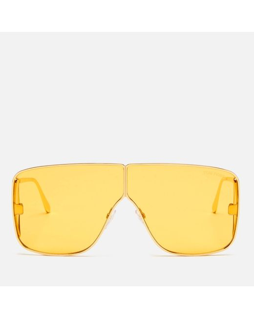 Tom Ford Yellow Spector Sunglasses