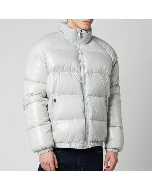 Pyrenex Gray Vintage Mythic Puffer Jacket for men
