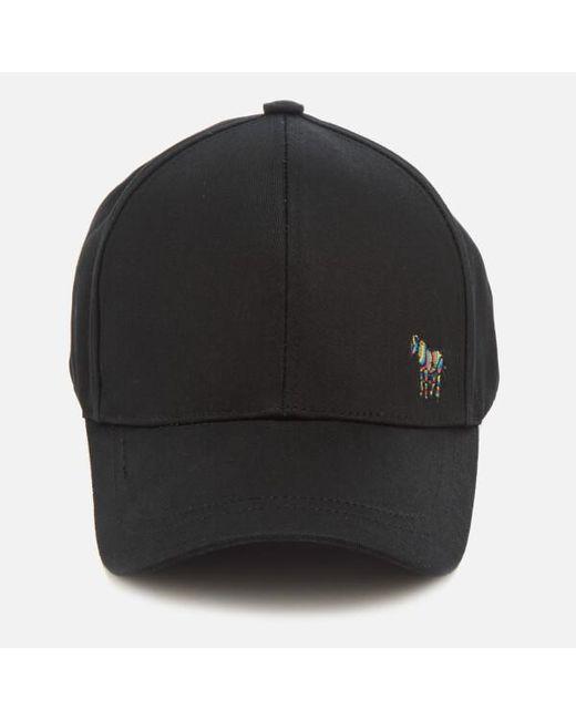 PS by Paul Smith - Black Men s Zebra Baseball Cap for Men - Lyst ... 2f765a3ab931