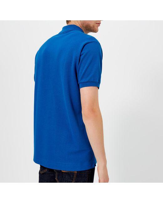 c1272763 ... Lacoste - Blue Classic Fit Polo Shirt for Men - Lyst ...