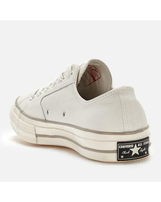... Lyst Converse - White Men s Chuck Taylor All Star 70 Ox Trainers for Men  ... 1424151ab